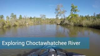 Exploring Choctawhatchee River