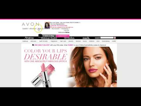 How to Direct Ship a Customer's Order from Your Avon Website -  Part 1