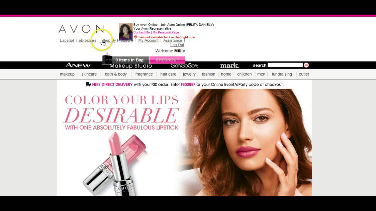 How To Direct Ship A Customer S Order From Your Avon Website Part