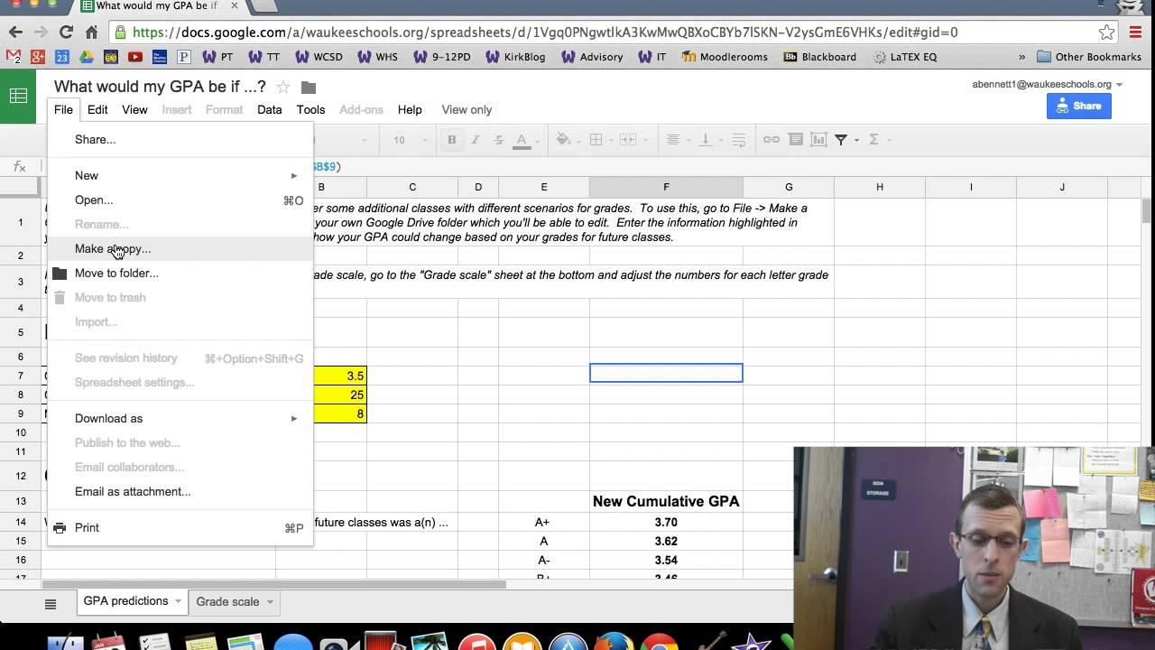 GPA Calculator - YouTube