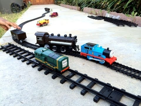 Thomas And Friends Trackmaster Toy Trains With Different Train And