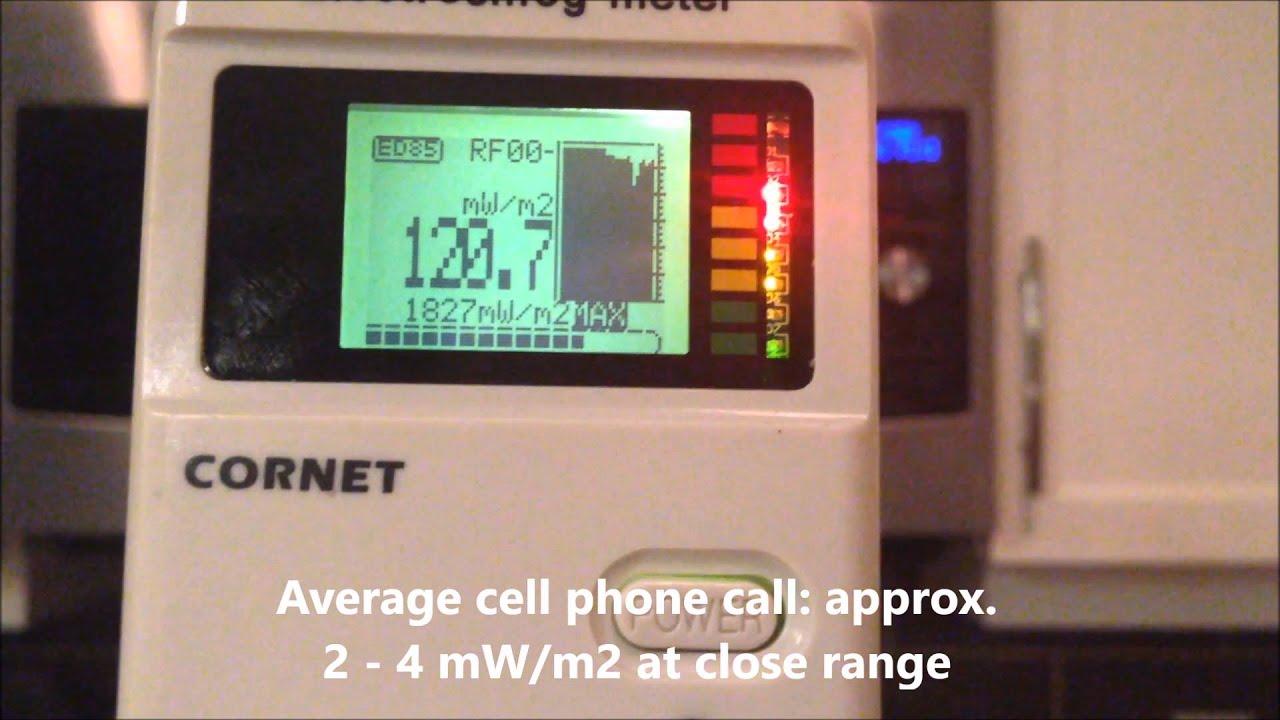 Microwave Radiation Test