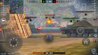 World of Tanks Blitz WOT gameplay playing with ISU-152 the Destroyer EP314(12/09/2018)