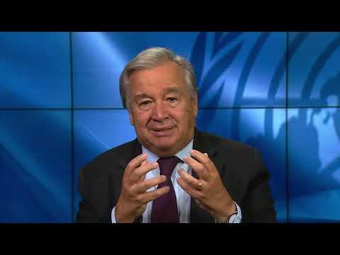 António Guterres, UN Secretary General - BBC HARDtalk