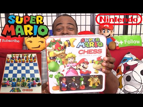 SUPER MARIO CHESS! [Collector's Edition] Unboxing & Review