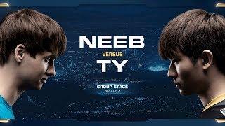 TY vs Neeb TvP - Group A - 2018 WCS Global Finals - StarCraft II