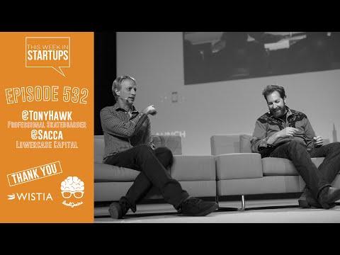 Tony Hawk & Chris Sacca on their friendship, taking risks, hustling, giving back & defining legacy