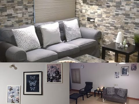 My Living Room Makeover using IKEA furniture/products
