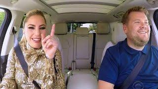 Lady Gaga FLAWLESSLY Belts Hits During Carpool Karaoke