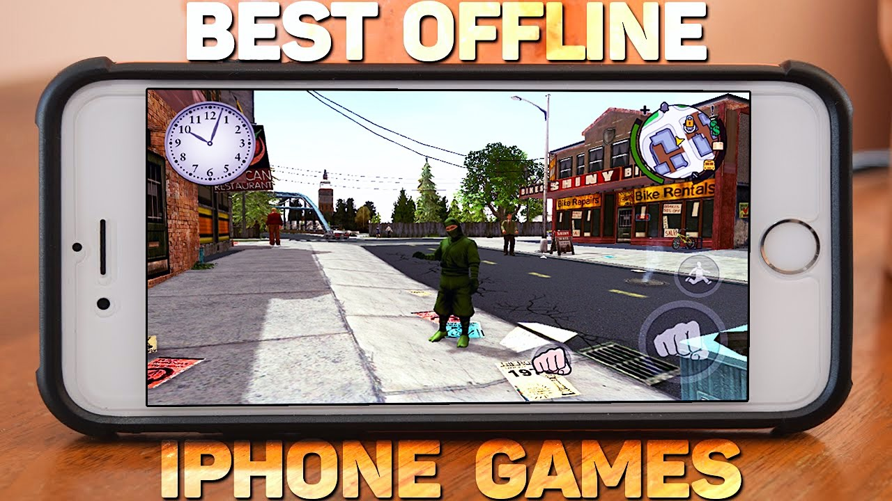Top Iphone Games