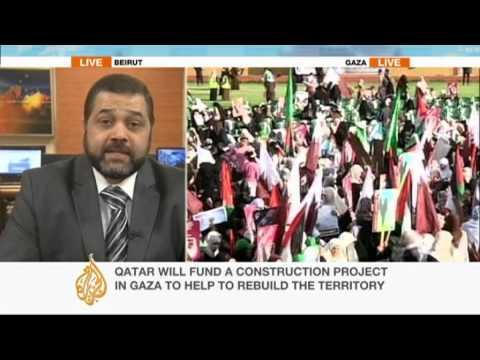 Osama Hamdan on Qatari emir&39;s Gaza visit