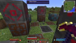 "Modded Minecraft - ""Magic Bear"" - S2E30 - Blood Magic Mining"