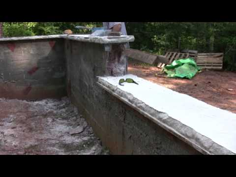 Vertical Concrete Walls---removing forms and liners from concrete ...