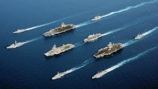 КРУПНОМАСШТАБНАЯ БИТВА ФЛОТОВ НАТО И РОССИИ ! В Эпичной Игре про Корабли Naval War: Arctic Circle