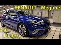 Renault Megane  Car Factory (Palencia, Spain) Production Footage