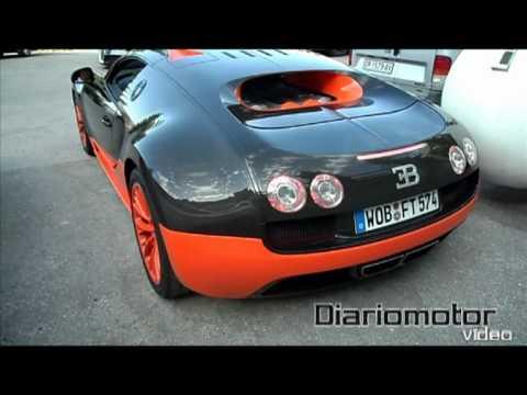 Bugatti Veyron Super Sport cazado en España