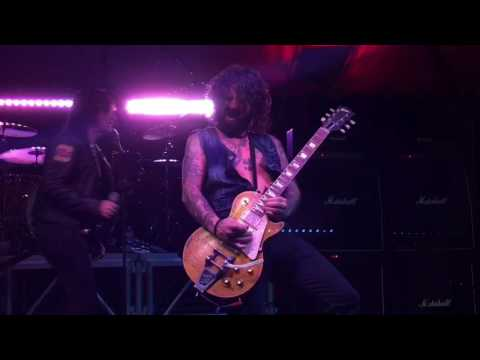L.A. Guns - Rip And Tear - RELOADED REUNION TOUR 2017 IN HOUSTON TEXAS 02/23/2017