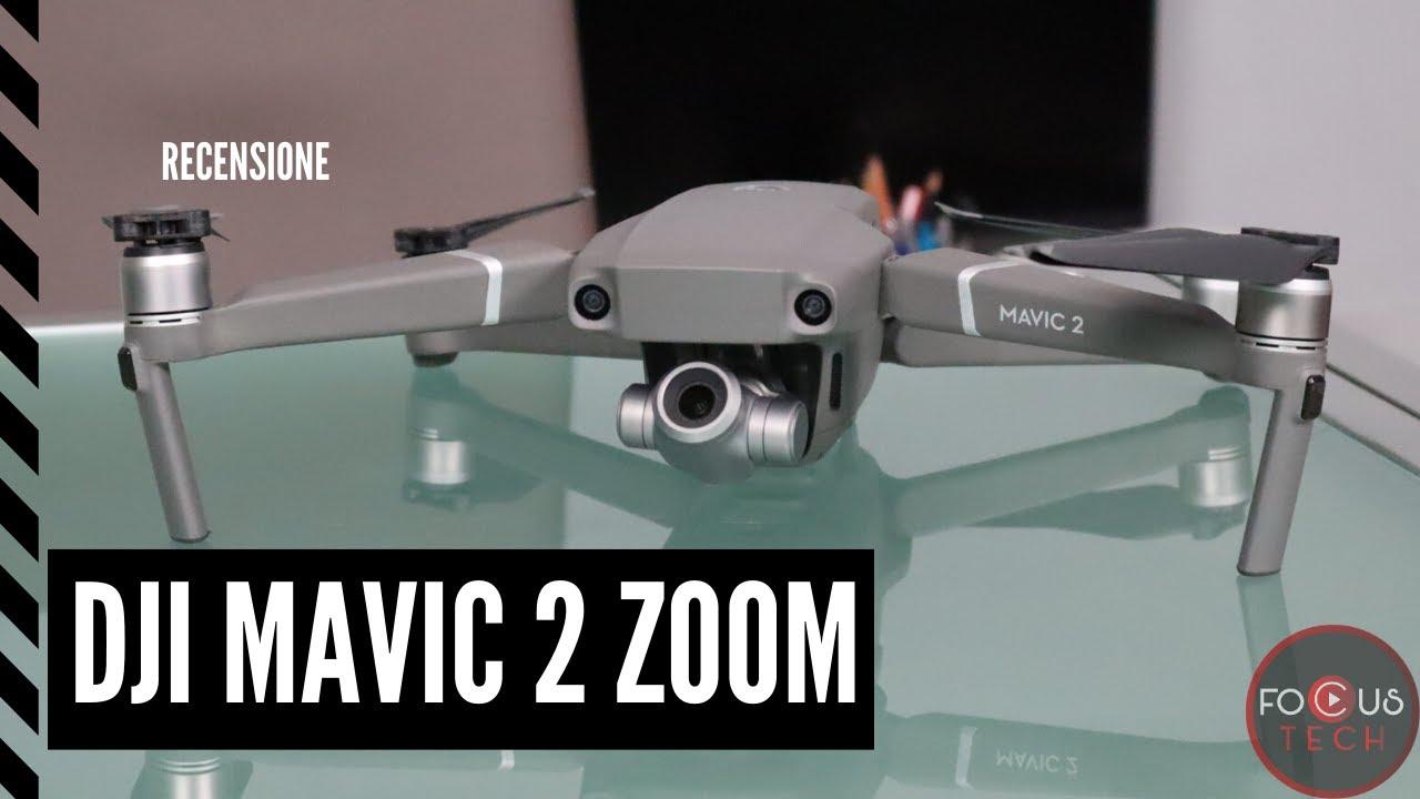 RECENSIONE DJI MAVIC 2 ZOOM: il drone con effetti video ...