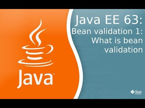 Java EE 63: Bean Validation 1: Что такое Bean Validation