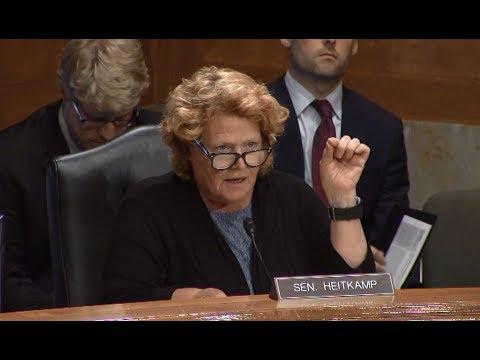 During Senate Hearing, Heitkamp Stresses Importance of Federal Lifeline Program