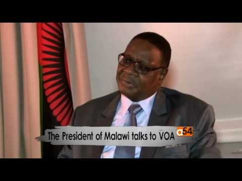 VOA Exclusive Interview with Malawi's President Peter Mutharika