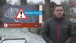 Wetter-Extra: Freitag und Nacht zum Samstag Schnee und Glatteis