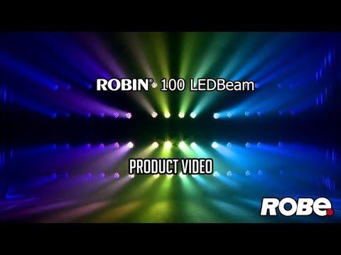 ROBE lighting - ROBIN 100 LEDBeam HD - YouTube 5c5b584b58f5