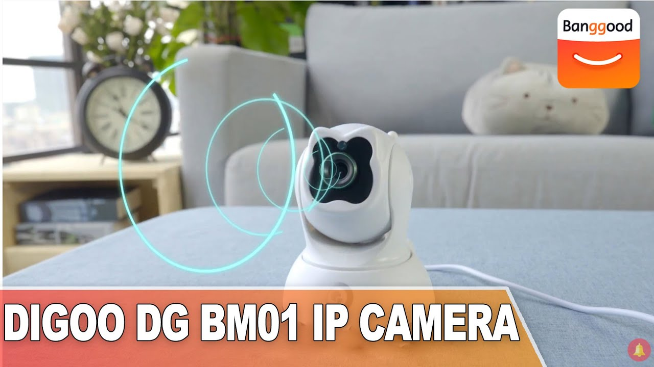 DIGOO DG BM01 Smart Security Camera|Buy at Banggood