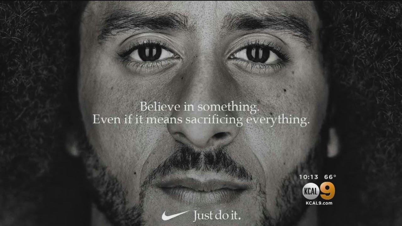 Nike Taps Kaepernick For New 'Just Do It' Advert