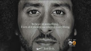 Nike Taps Kaepernick For New 'Just Do It' Ad