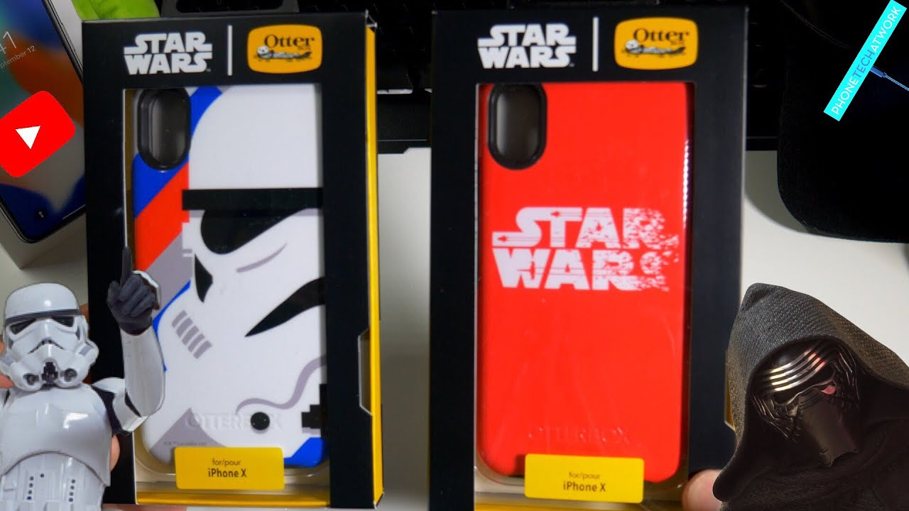 info for 91721 11da2 iPhone X Otterbox Star Wars Edition Symmetry Cases! A Must For Star Wars  Fan!