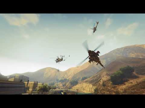 GTA 5 Military Crew (Allied Marine Aviation Intro)(PS4)