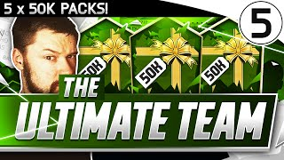 5 x 50k packs the ultimate team 05 fifa 16 pack to glory