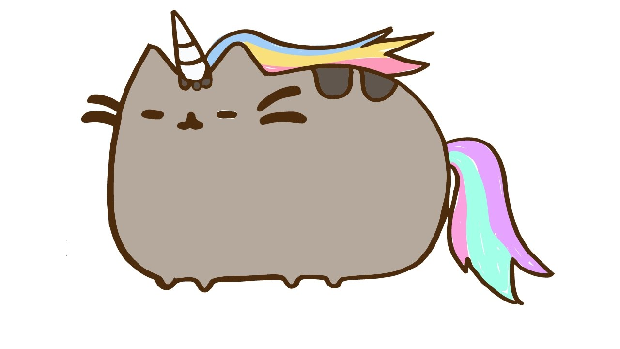 Perfect How To Draw Cute Pusheen The Cat Unicorn