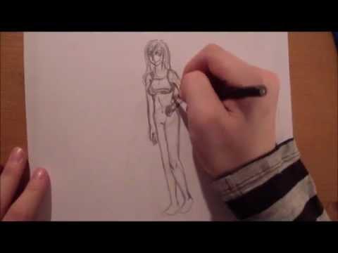 Kleidung zeichnen lernen leicht gemacht