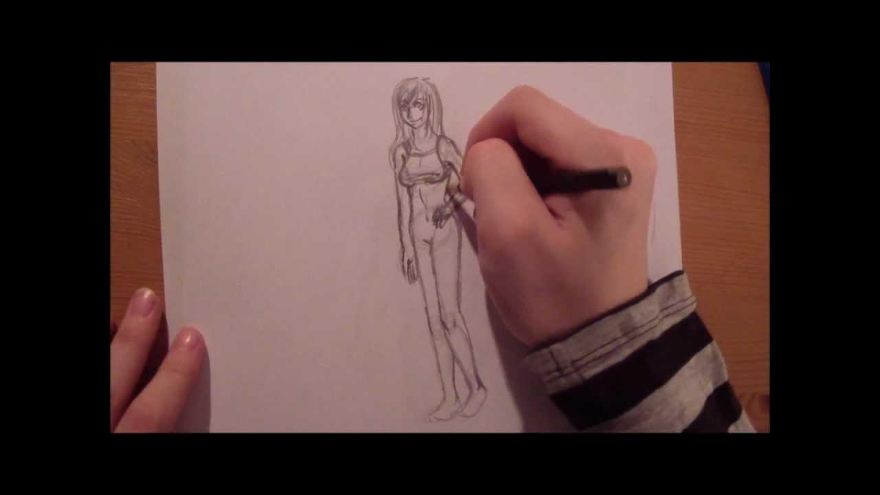 Kleidung Zeichnen Lernen Leicht Gemacht Youtube