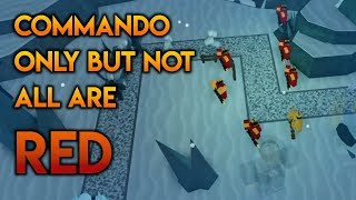 So We Brought Only Commandos To The Winter Event... But Not All Were Red | Tower Battles [ROBLOX]