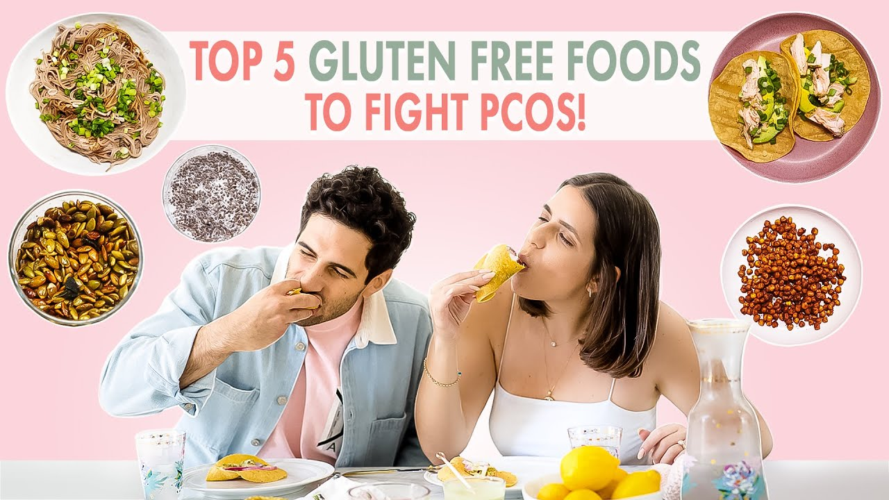 Top 5 Gluten Free Foods to Fight PCOS (Taste test ft. my husband)