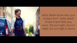 One Direction - Little Black Dress (Lyrics + Pictures)