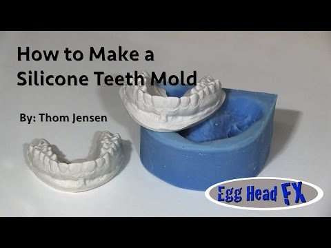 How to Make a Silicone Teeth Mold