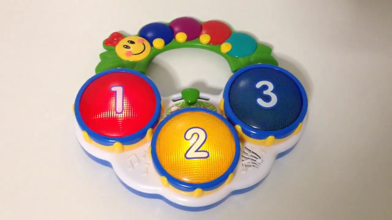 Baby Einstein Musical Toys : Baby einstein musical drum toy with lights and sounds