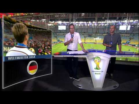 Germany - Argentina world cup final Post game interviews (German)
