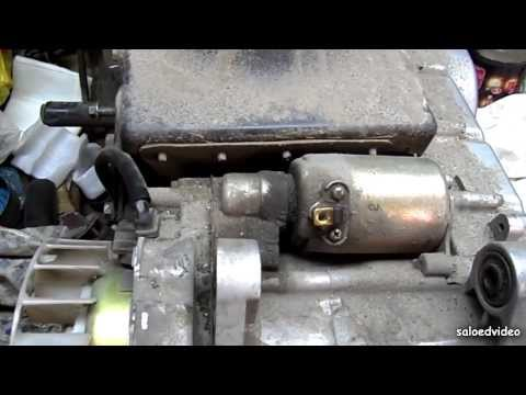 Снятие, разборка стартера 150 сс двигателя