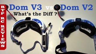RC Reviews Fat Shark Dominator V3 vs Dominator V2  What
