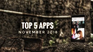 TOP 5 BEST Android Apps November 2018 Latest | Late version