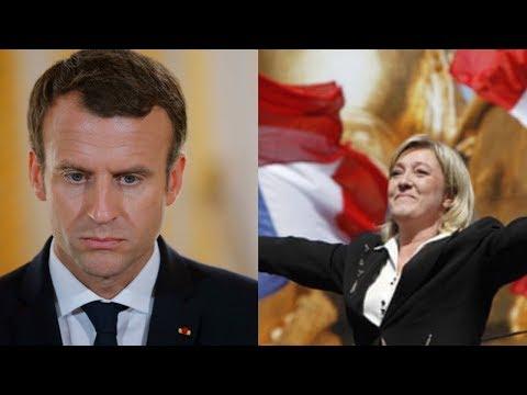 Marine Le Pen has Massive Lead Over Failing Macron in European Elections!!!