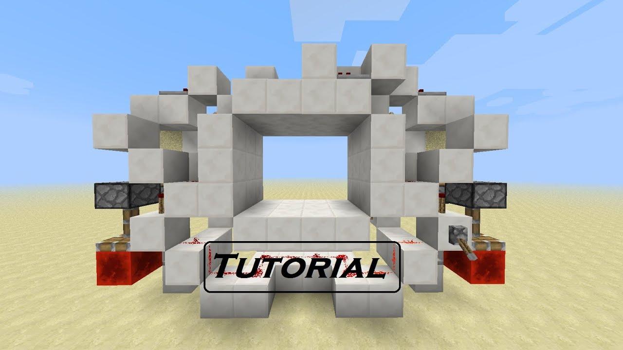 & Minecraft Tutorial: 4x3 piston door [German/HD] - YouTube Pezcame.Com