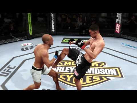 Nate Diaz vs BJ Penn (EA Sports UFC)