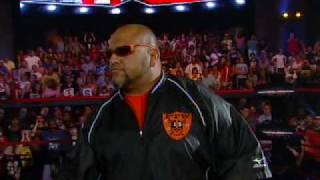 "Taz Makes His TNA ""iMPACT!"" Debut"