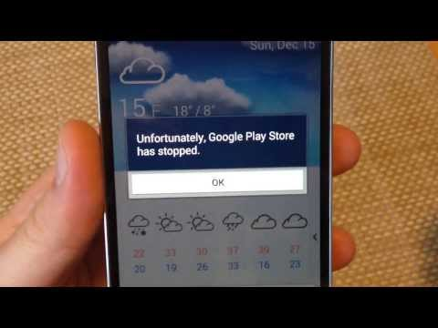 FIX Google Play store closes immediately stopped working crashing won't open Android 4.3